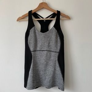 Lucy sports top with built in bra